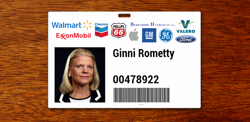 IBM's access card to the Global 500